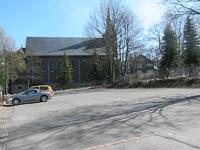 Parkplatz an der Holzkirche zu Neuhaus