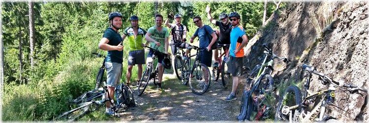 Geführte Mountainbike Touren in der Aktivregion am Rennsteig
