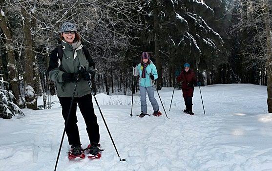 Kurse oder Touren mit Buchungen für Langlauf und Schneeschuhwandern. Aktionen, Suche und Informationen.