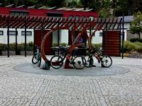 Rennsteigbeginn in Blankenstein an der Saale